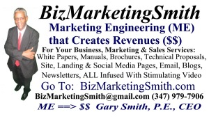 Gary BizMarketingSmith BizCard Side 1